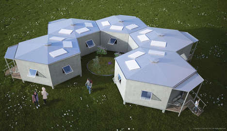 Eco-Friendly Refugee Housing - The 'Hex House' is Designed to be Sustainable and Low-Cost