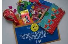 Joy-Spreading Parcel Services - Positivity Pack Allows You To Send an Activity-Packed Happiness Kit