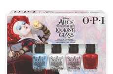 Cinematic Nail Polish Collections - The New OPI Collection Promotes Alice Through the Looking Glass
