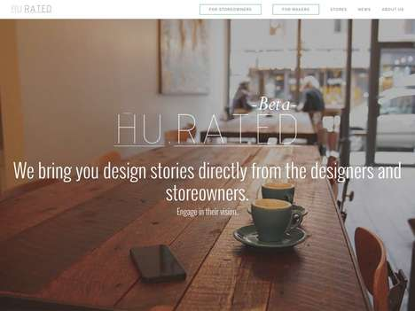 Design Review Platforms - Hurated is Like a Search Engine for Design Products Curated by Tastemakers