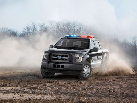 Supercharged Police Trucks