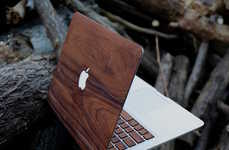 Handmade Veneer Laptop Cases