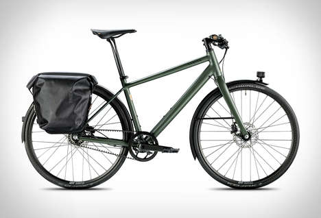 Commemorative Commuter Bikes - The Canyon Brooks 150 is a Exclusive Cycle Built Urban Riding