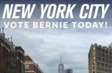 Political Geofilter Ads - The Bernie Sanders Snapchat Geofilter Was a Paid Ad on NYC Primary Day