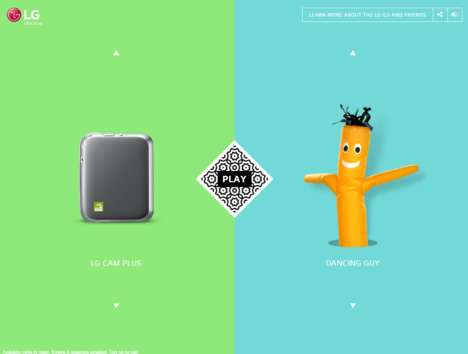 Playful Phone Websites