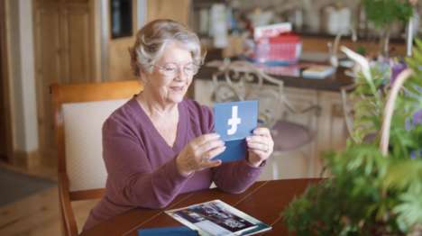 Social Media Mail Deliveries - Project GramGram Sends Social Media Messages to Grandma's Mailbox