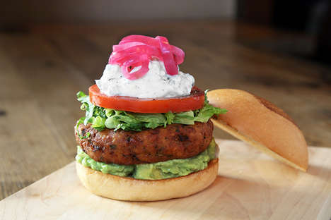 Vegetarian-Friendly Falafel Burgers