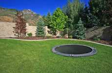 Discreet In-Ground Trampolines