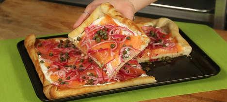 Lox Bagel Pizzas