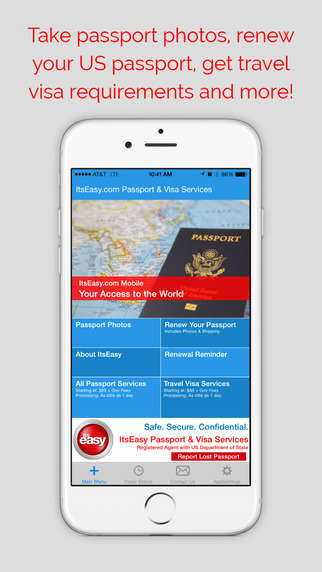 Streamlined Document Renewal Apps - The 'ItsEasy' App Makes Passport Renewal Quick and Easy
