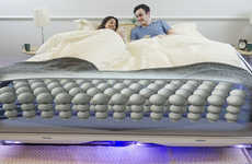 Personalizing Smart Beds - The Balluga Bed by Joe Katan Creates Ideal Sleeping Conditions