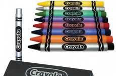 Fake Crayons for Adults - The 'Crayola Crayon Executive Pen' For Childish Office Fun