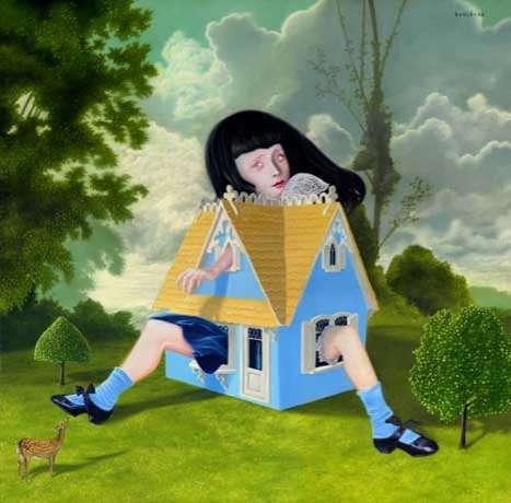 Gloomy Surrealist Art