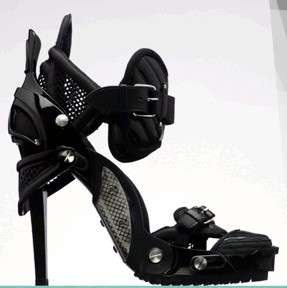Stilettos Inspired by Snowboard Boots