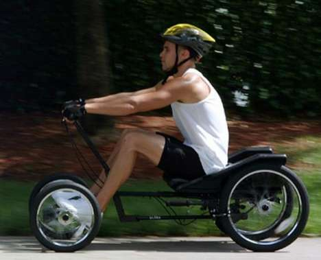 Arm-Powered Quadcycles