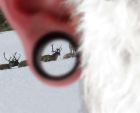 Pierced Santas