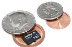 Portable Micro Safes - Sneaky Spy Coins Show the Hidden Value of Money