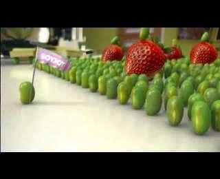 War-Inspired Snack Food Ads