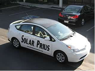 Solar Car Kits - Boost Your Prius Fuel Economy by Hooking Up Solar Energy Modules