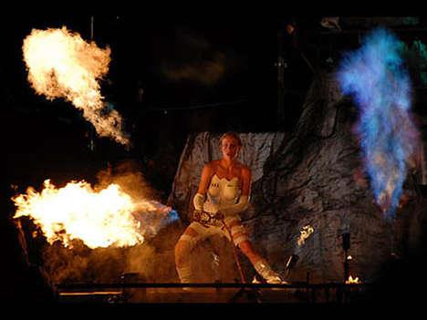 Guerrilla Art Fire Shows
