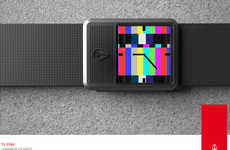 '80s-Inspired Watches - Nixon Prototypes Channel Glory Days of Pong, Tetris and TV