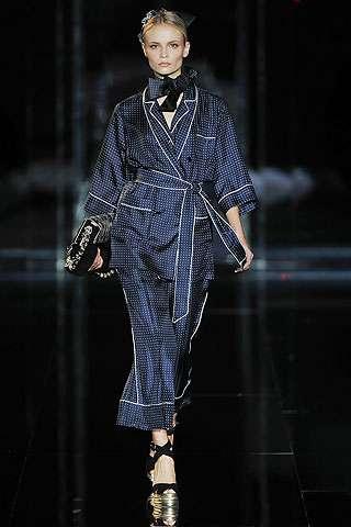 Couture Pajamas in Public
