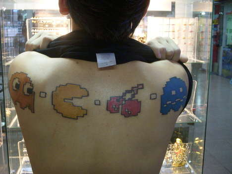 Tattoos of Classic Video Games