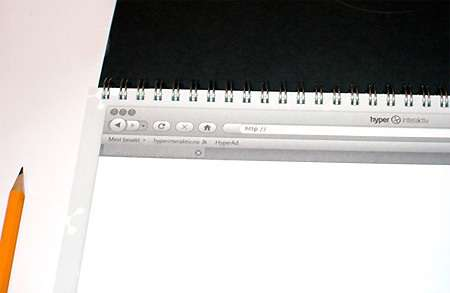 Browser-Inspired Sketchbooks