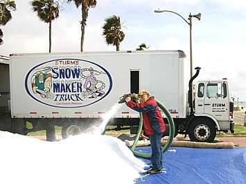 Making Snow in Summer