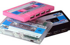 Re-Purposing Old Technology - Cassette Chic Designs for Modern Times