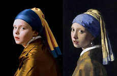 Recreating Iconic Paintings with Children - 'Old Masters' by Rainer Elstermann
