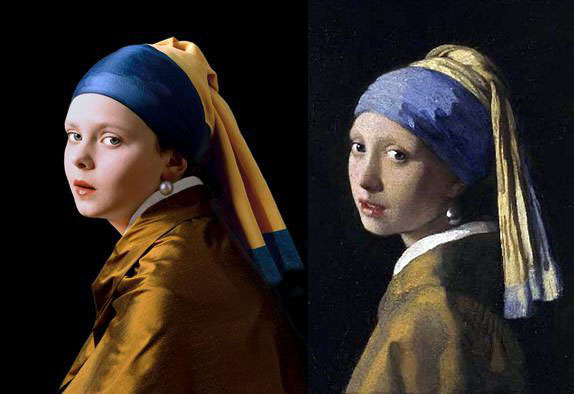 Recreating Iconic Paintings with Children