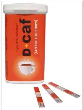 These D+Caf Strips Are Like Pregnancy Tests for Coffee