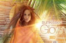 Illuminated Fragrance Ads - 'Sunkissed Glow' Perfume by JLo Sells With Sensuality