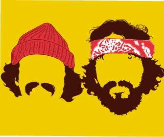 Faceless Cheech and Chong 'Up in Smoke' Apparel