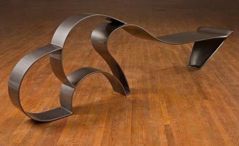 Sinuous, Free-Flowing Furniture