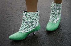 Eco-Chic Footwear - Dacca Boots Are Made From Plastic Bags