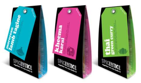Matchbox-Shaped Spice Kits