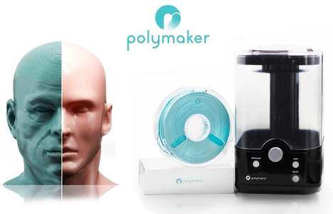 Layer-Free Printing Materials - The 'PolySmooth' Filament Can be Polished After Printing