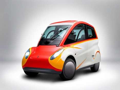 Oil Brand City Vehicles