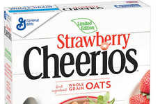 Fruit-Flavored Cereals - The New Cheerios Flavors are Inspired by Seasonal Ingredients