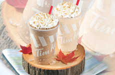Maple-Flavored Coffee Drinks - This Chain's Summer Menu Includes Two New Maple-Flavored Beverages