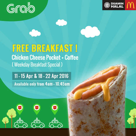 Free Fast Food Breakfasts