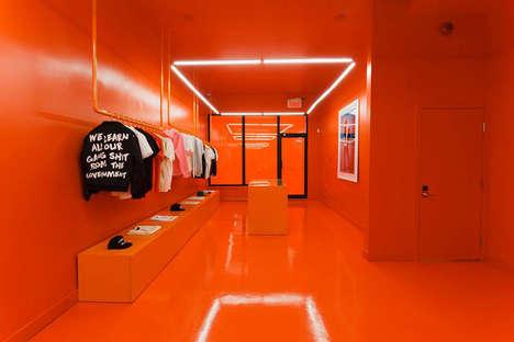 All-Orange Streetwear Boutiques