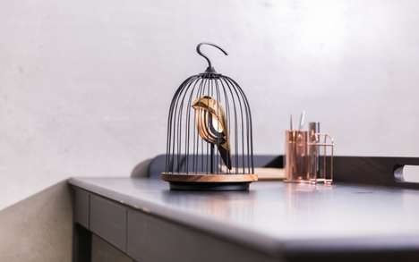 Birdcage Lamp Speakers