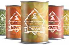 Freshness-Boasting Packaging - The Sonoco 'TruVue' Food Package Design Features FreshLock Technology