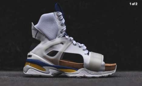 Futuristic Sporty Sandals