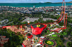 Italian Supercar Amusement Parks - The North American Ferrari Theme Park is for Car Enthusiasts