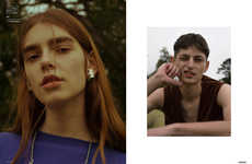 Gender-Fluid Menswear Editorials