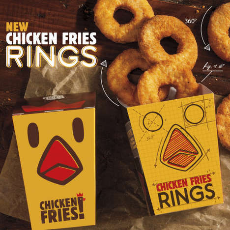 Ring-Shaped Chicken Fries